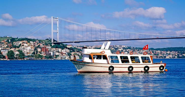 Try the Bosphorus ferries