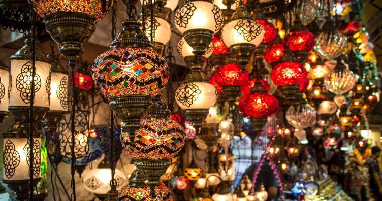 Visit the bazaars