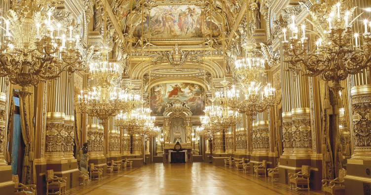 After hours tour of the Opera Garnier