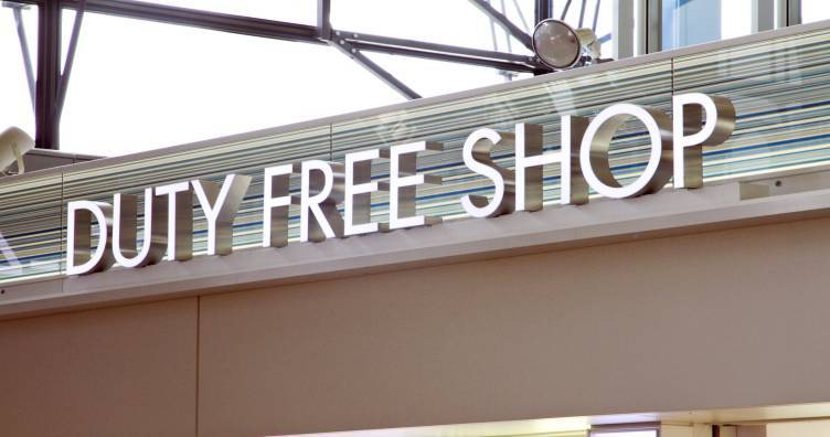 Visit the Duty-Free Stores