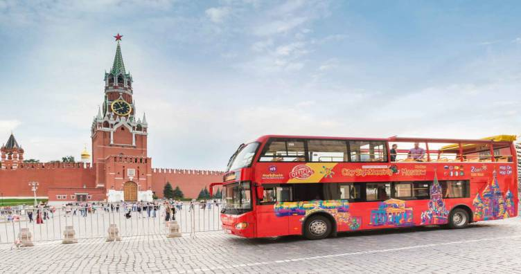 City Sightseeing Moscow Hop-On-Hop-Off Tour