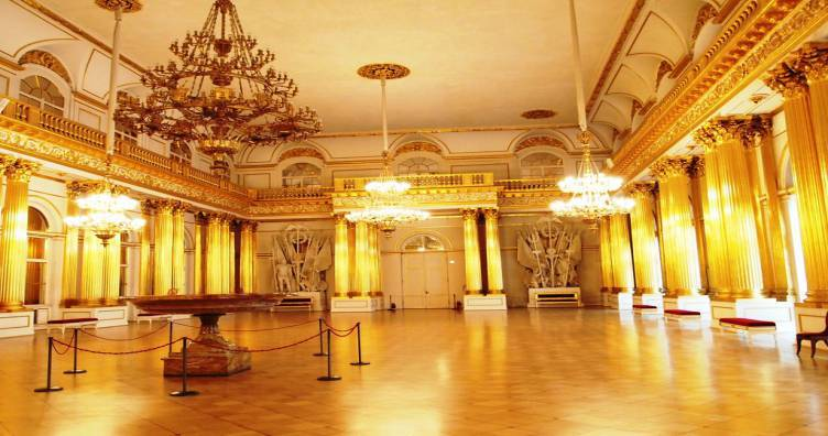 Visit the Gold Room at the Hermitage